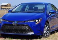 Toyota Corolla Features Lovely Driven 2020 toyota Corolla Hybrid is A Prius without the