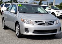 Toyota Corolla Used Cars for Sale Near Me Inspirational Pre Owned 2013 toyota Corolla Le 4dr Car In Clermont A