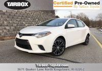 Toyota Corolla Used Cars for Sale Near Me Inspirational Pre Owned 2016 toyota Corolla Le 4dr Car In north Kingstown