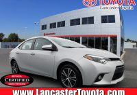 Toyota Corolla Used Cars for Sale Near Me Lovely Certified Pre Owned 2016 toyota Corolla Le Premium 4dr Car In East