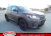 Toyota Hays Ks Lovely New 2019 toyota Highlander for Sale Hays Ks