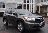 Toyota Highlander 2015 Reviews Lovely Review 2015 toyota Highlander Hybrid Canadian Auto Review