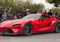 Toyota Irvine Lovely toyota Ft 1 Concept Cars and Coffee Irvine Youtube