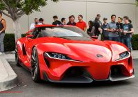 Toyota Irvine Lovely toyota Ft 1 Concept Shows Up at Cars and Coffee Irvine