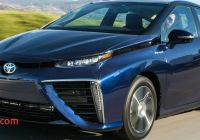 Toyota Mirai Mpg Awesome New 2016 toyota Mirai Driving Range and Fuel Economy Ratings