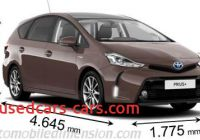 Toyota Prius 2015 Width Lovely Dimensions Of toyota Cars Showing Length Width and Height