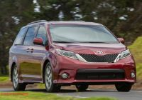Toyota Sienna 2015 Review New 2015 toyota Sienna Reviews and Rating Motor Trend