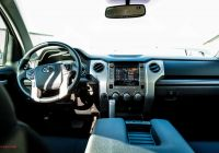 Toyota Tundra Interior Best Of 2017 toyota Tundra Interior Review Car and Driver
