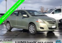 Toyota Used Cars Fresh Pre Owned 2007 toyota Yaris 4dr Car In Sandy S5783a