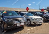 Trade In Used Car Luxury Used Car Parking for Sale – Stock Editorial Photo © asobov