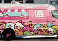 Truck Stop Near Me Fresh Hello Kitty Cafe Truck Sanrio