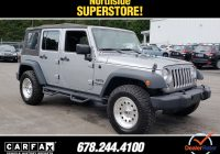 Unlimited Carfax Awesome Used 2015 Jeep Wrangler Unlimited for Sale In Cumming Ga
