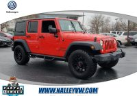 Unlimited Carfax Beautiful Used 2017 Jeep Wrangler Unlimited for Sale at Nalley Volkswagen Of