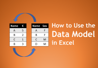 Use Fresh How to Use the Data Model In Excel Microsoft Excel Excel Gorilla