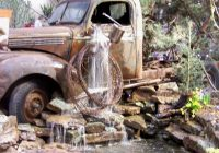 Use Truck Beautiful Try something Unique Use An Old Rusty Car or Truck for A Water