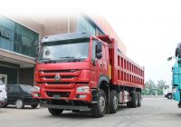 Use Truck Unique China Low Price Used Howo Dump Truck 12 Tyres 375hp 40tons Excellent