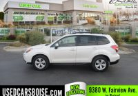 Used Car Dealerships Boise Best Of Used 2015 Subaru forester for Sale Boise Id