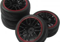 Used Car Rims Near Me Best Of Goo 12mm Hex Wheel Rims & Rubber Tires for Rc 1 10 On Road touring Drift Car Pack Of 4