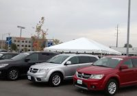 Used Car Superstore Luxury Tent for the Grand Re Opening at Coralville Used Car Superstore