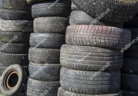 Used Car Tires New Pile Used Car Tires Stacked tower Stock Photo Royalty Free