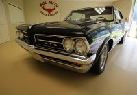 Used Cars Albany Ny Awesome 1964 Pontiac Gto Gto 2 Door Hard top Stock for Sale Near