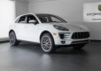 Used Cars Colorado Springs Fresh 2018 Porsche Macan Macan for Sale In Colorado Springs Co