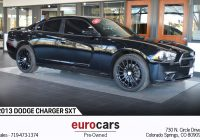 Used Cars Colorado Springs Lovely 2013 Dodge Charger Sxt Stock E1081 for Sale Near Colorado Springs