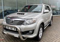 Used Cars for Sale 0 Deposit Fresh toyota fortuner fortuner 3 0d 4d 4×4 Auto for Sale In