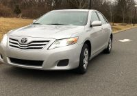 Used Cars for Sale $10000 by Owner Fresh Single Owner Private Sale Camry Le 2010 Used toyota Camry