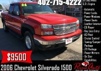 Used Cars for Sale 1500 or Less Lovely 2006 Chevrolet Silverado 1500 Lt Call Us today