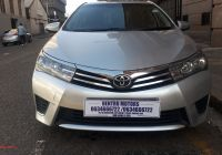Used Cars for Sale 2018 Awesome toyota Corolla 2 0d 4d Advanced for Sale In Gauteng