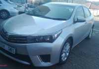 Used Cars for Sale 2018 Unique toyota Corolla 2 0d 4d Exclusive for Sale In Gauteng