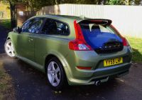 Used Cars for Sale 500 Lovely Volvo C30 2 0d R Design In Lime Grass Green for Sale by