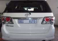 Used Cars for Sale 6 Seater New toyota fortuner 3 0d 4d 4×4 for Sale In Gauteng