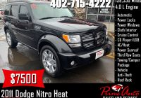 Used Cars for Sale 7500 or Less Luxury 2011 Dodge Nitro Heat Call Us today