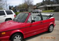 Used Cars for Sale 98273 Luxury Volk Wagon Volkswagen Cabriolet 1990