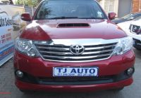 Used Cars for Sale Cape town New toyota fortuner 3 0d 4d Auto for Sale In Gauteng
