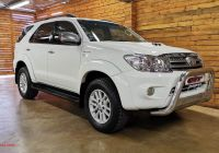 Used Cars for Sale Cheap Fresh toyota fortuner fortuner 3 0d 4d for Sale In Gauteng