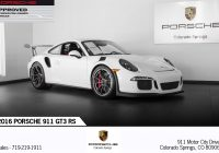Used Cars for Sale Colorado Springs New 2016 Porsche 911 Gt3 Rs Stock P2753 for Sale Near Colorado Springs