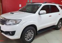 Used Cars for Sale In Gauteng Lovely toyota fortuner 3 0d 4d 4×4 Auto for Sale In Gauteng In 2020