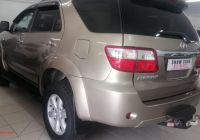 Used Cars for Sale Kitchener Inspirational toyota fortuner fortuner 3 0d 4d for Sale In Gauteng