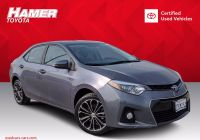 Used Cars for Sale Los Angeles Lovely Certified Pre Owned 2016 toyota Corolla S Plus Fwd 4dr Car