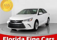 Used Cars for Sale Near Me toyota Elegant Used 2017 toyota Camry Le Sedan for Sale In Miami Fl