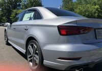 Used Cars for Sale Nj Luxury Rear Angled View Of the 2018 Audi A3 In Florett Silver