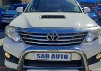 Used Cars for Sale On Facebook Fresh toyota fortuner 3 0d 4d Auto 2012