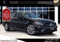 Used Cars for Sale San Antonio Elegant Certified Pre Owned 2019 Mercedes Benz C 300