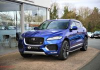 Used Cars for Sale Uk Unique 2015 Blue Jaguar F Pace