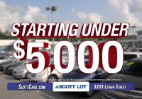 Used Cars for Sale Under 5000 with Low Mileage Lovely Scott Cars Allentown Pa Used Cars Starting Under $5 000 Youtube