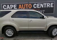 Used Cars for Sale Western Cape Luxury toyota fortuner fortuner 3 0d 4d 4×4 Auto for Sale In