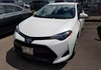 Used Cars Hilo Best Of 2017 toyota Corolla